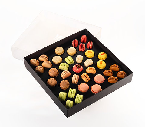 COFFRET LUXE 37 MACARONS