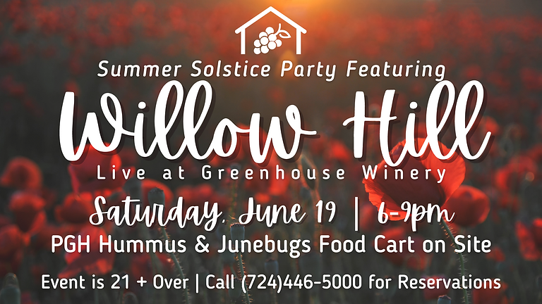 Live Music by Willow Hill