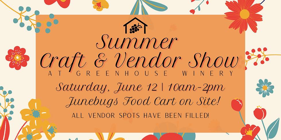 Summer Craft & Vendor Show
