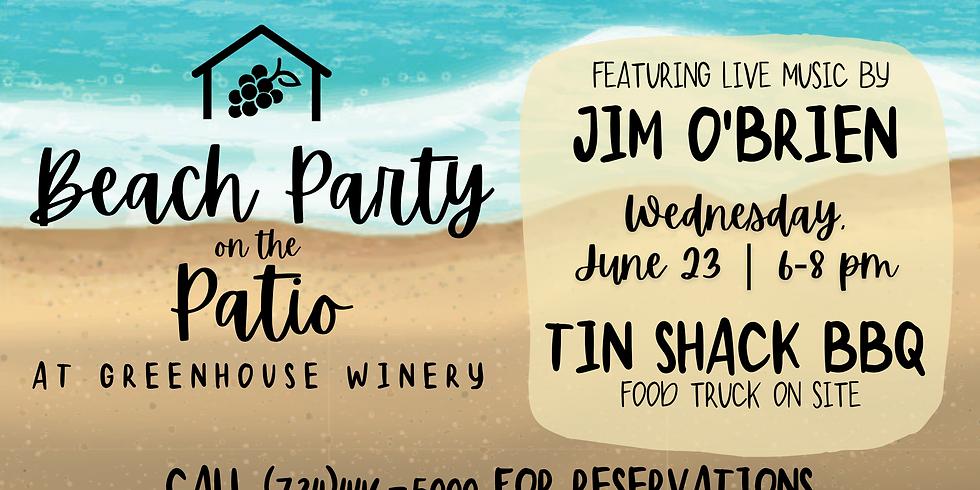 BEACH PARTY! with Jim O'Brien