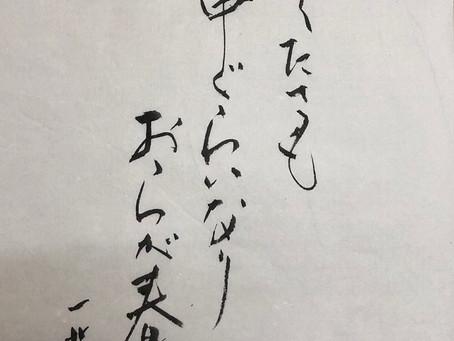 【書】紘山の「小寒」