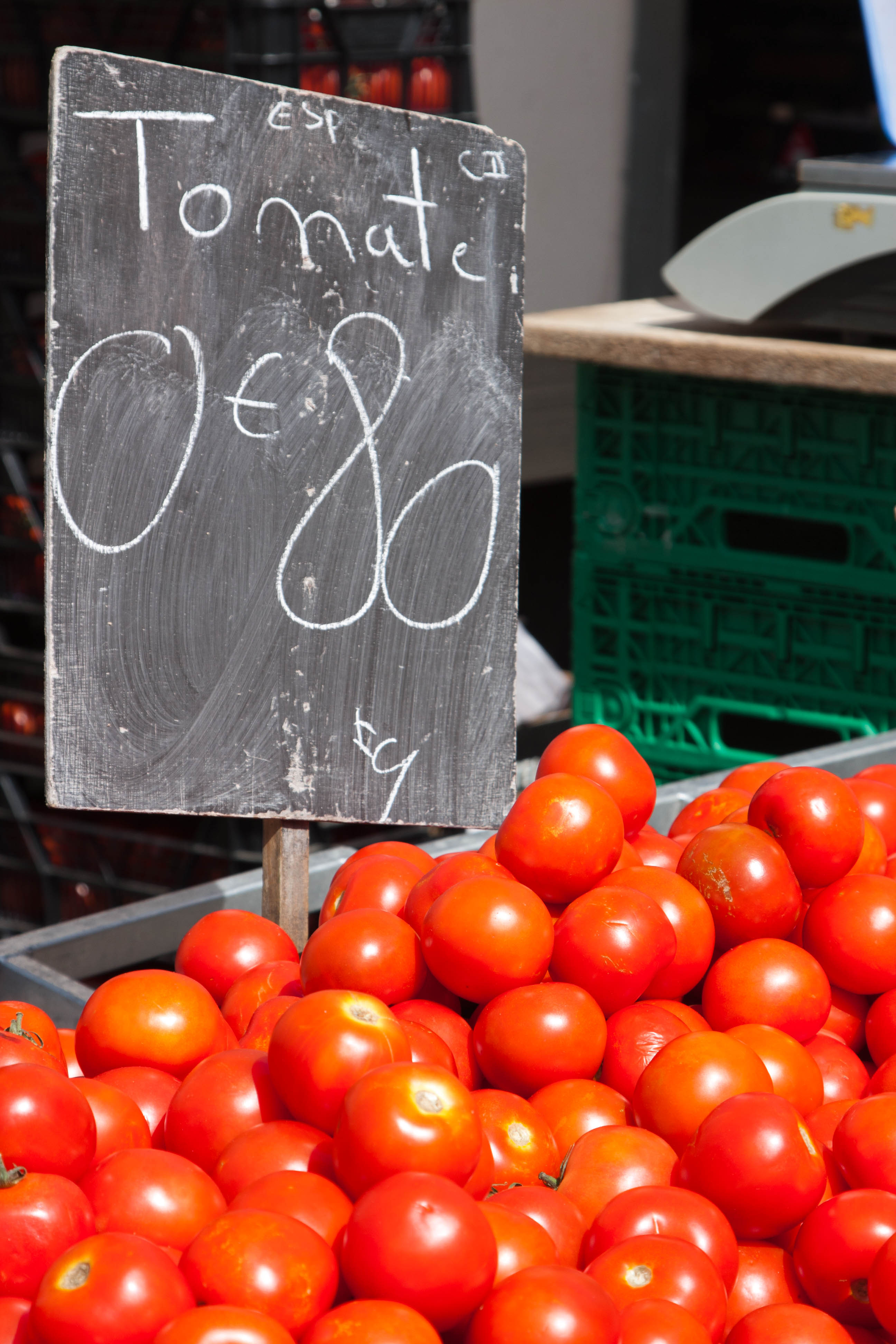 cherry tomatoes for sale at market