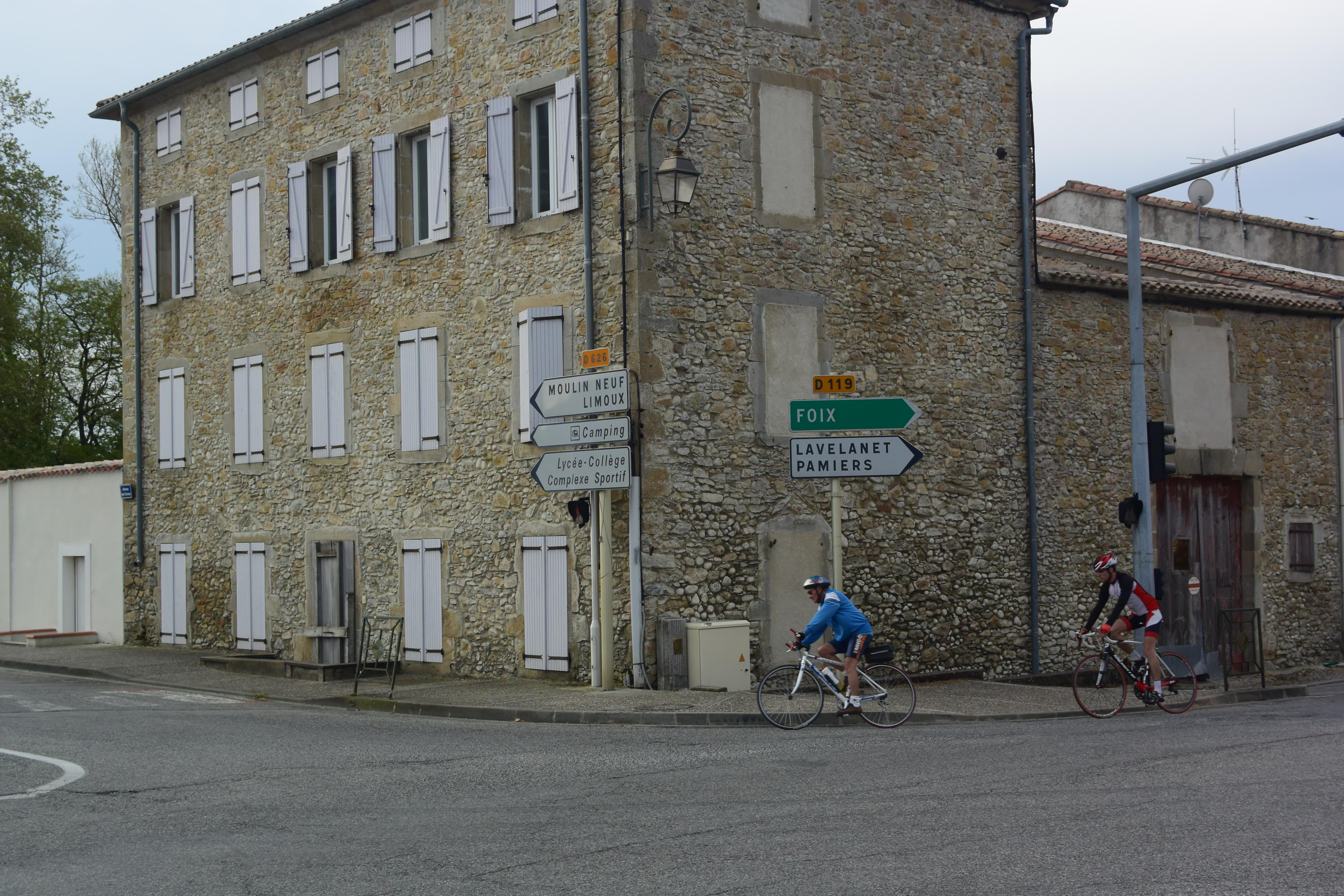 Corner street in Mirepoix