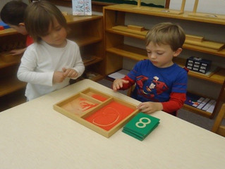 Jr./Sr. Kindergarten - A Picture Is Worth A Thousand Words…  In A Montessori Classroom