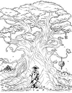 Bonsai-Samurai_RPILLUSTRATION