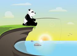 panda-fishing_RPILLUSRATION