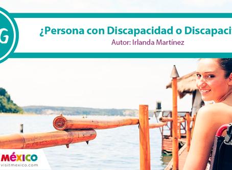 """¿""""Persona con discapacidad"""" o """"discapacitado""""?"""
