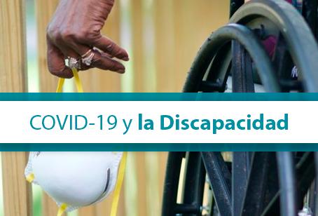 COVID 19 Y LA DISCAPACIDAD