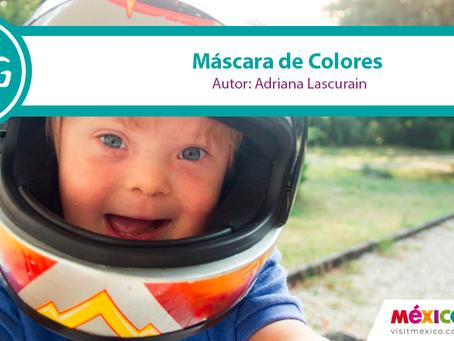 La máscara de colores y sonrisas de la discriminación.