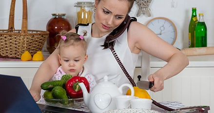 bigstock-Mother-With-Baby-In-Kitchen-464