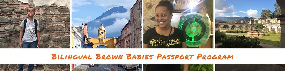 Bilingual Brown Babies Passport Program.