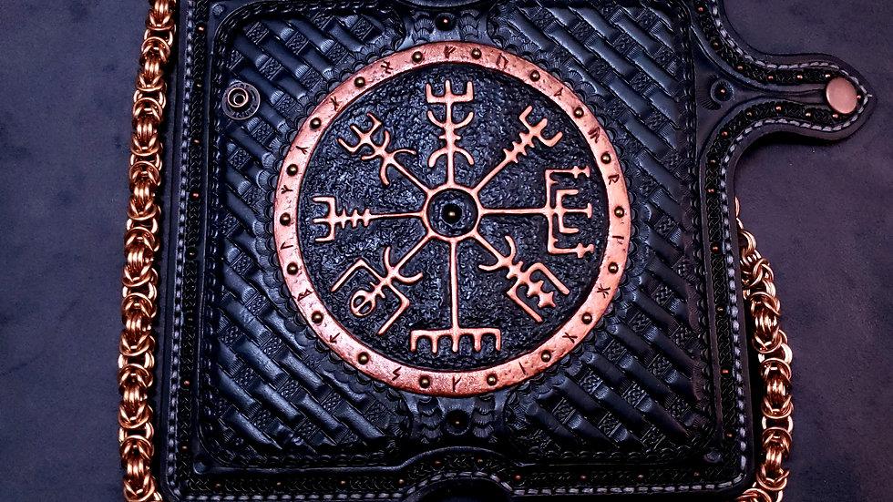Forged Vegvisir Long Wallet