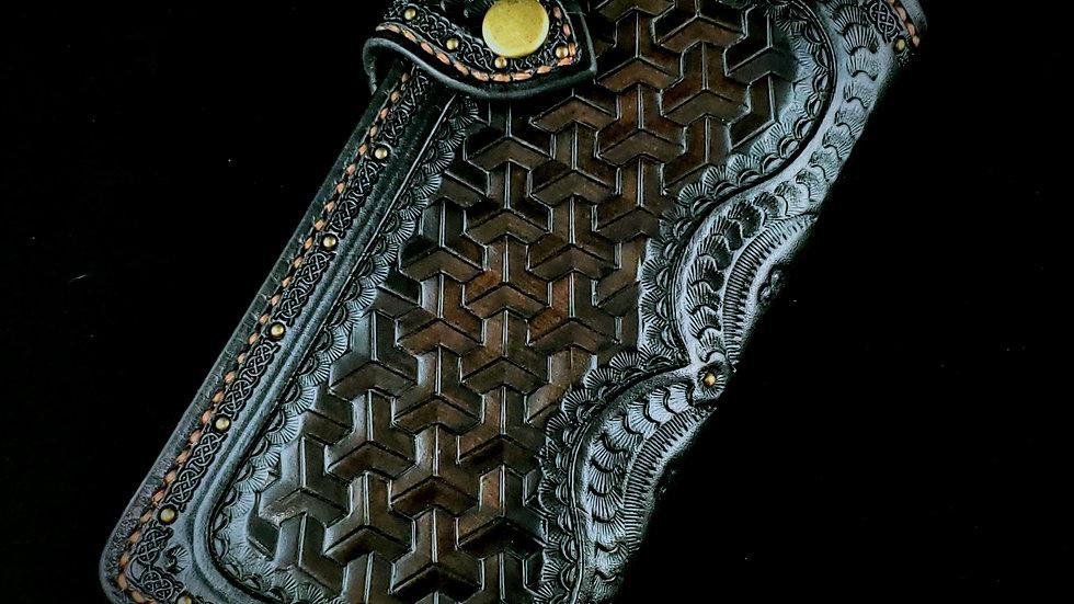 Dwarven Weave Long Wallet