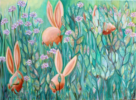 Rabbits in the Mint