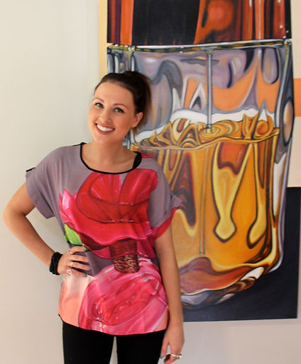 Perfume Clothing collection by Gemma Donnellan