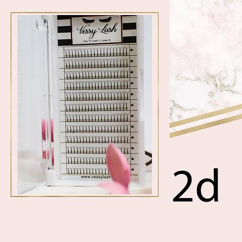 2D, 0.10, D curl, 12mm