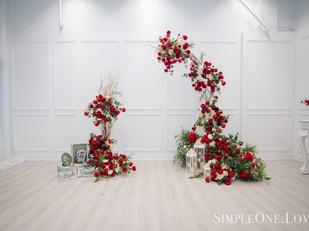 Flower & Decor: SimpleOne.Love Photo: GalleryOne Production