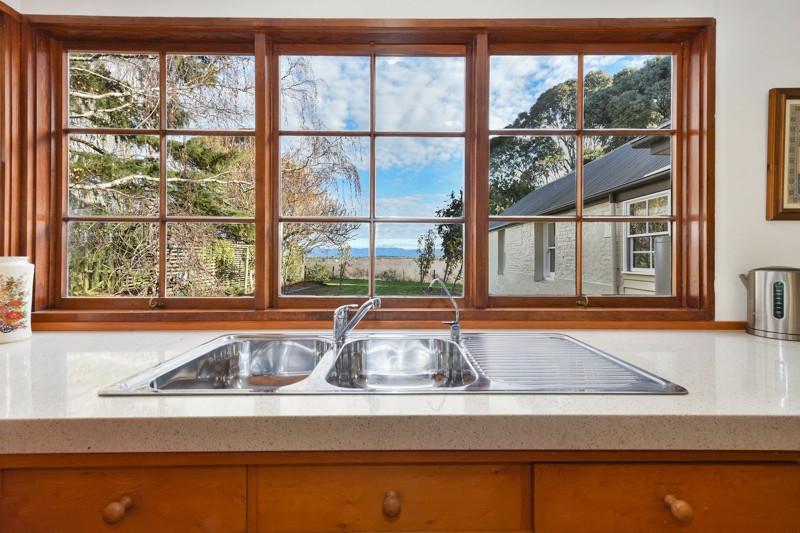 Stunning views from main kitchen window