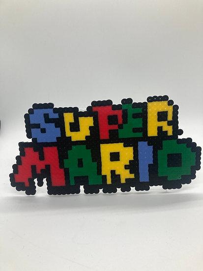 Super Mario Title, Mushroom Kingdom