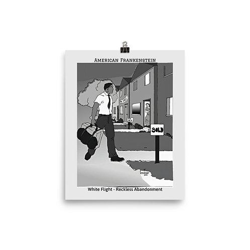 White Flight Poster