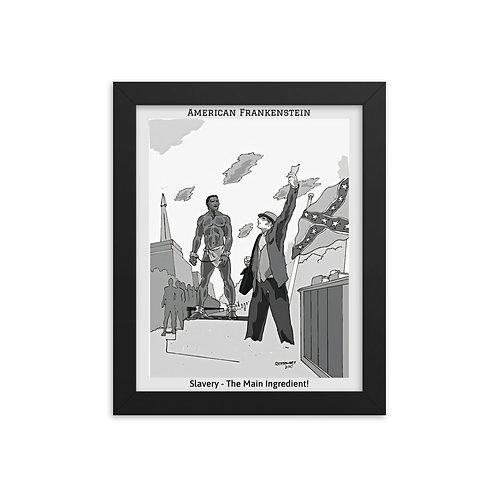 Slavery Framed Poster