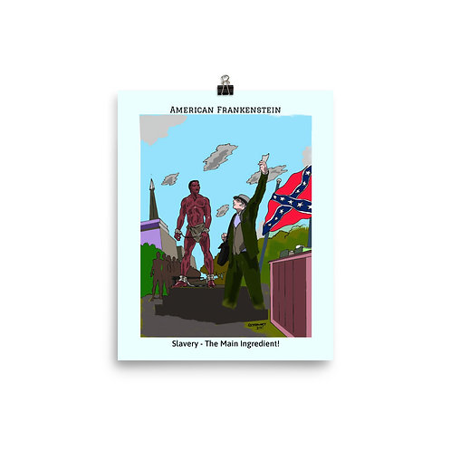 Slavery Color Poster