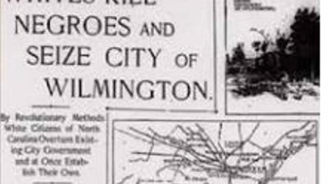 Wilmington NC Massacre