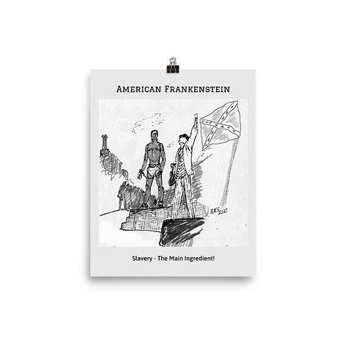 Slavery Sketch Poster