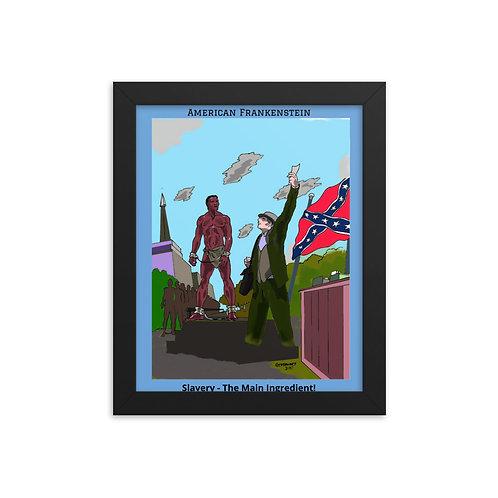 Slavery Color Framed poster