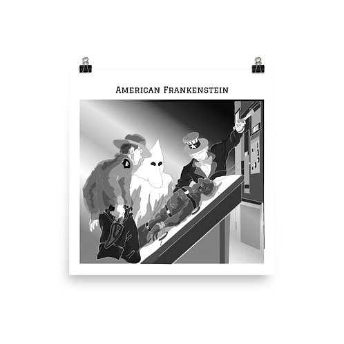 The Frankenstein Analogy Poster