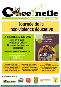 Journée de la non-violence éducative le 30 avril