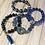 Thumbnail: Ibiza Range  dark/mid blue set of four
