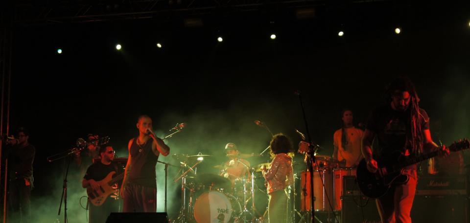 Concierto de Calle 13 en Cádiz (2012)