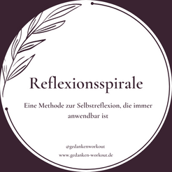 Methode zur Selbstreflexion - Die Reflexionsspirale