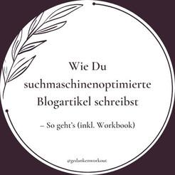 Wie Du Deine Blogartikel SEO optimieren kannst