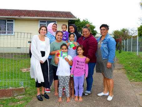 South Auckland family delighted to receive a Countdown Voucher