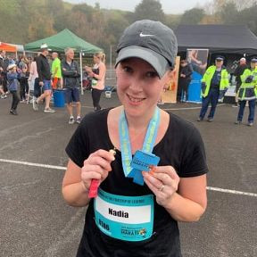 Nadia's Half Marathon raises $2510 for Kidz First Neonatal Care.
