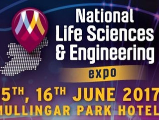 Going to the National Life Sciences & Engineering Expo 2017..... So are we....Stand K7