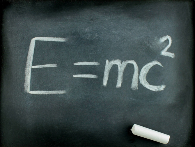Everybody knows that e = mc2