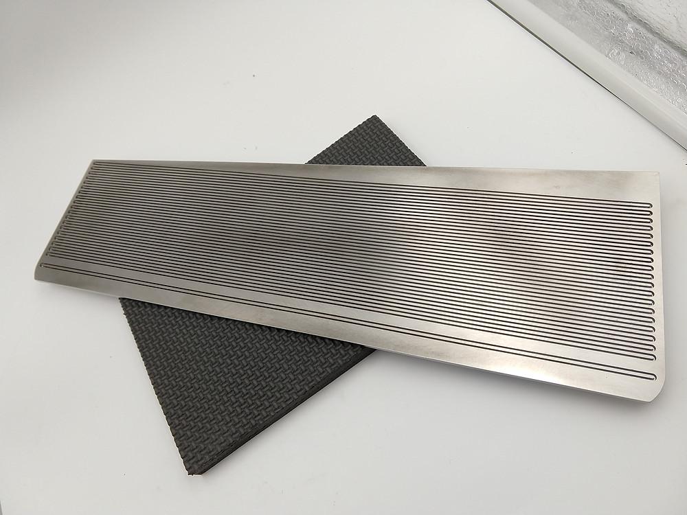 Fig. 2: Inconel 625 high temperature heat exchanger