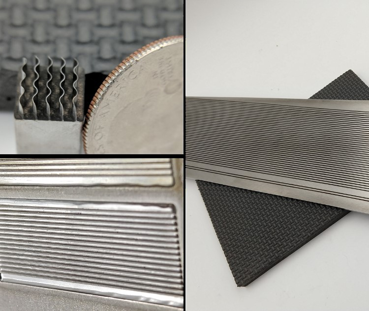 thin walled features created with electrochemical machining