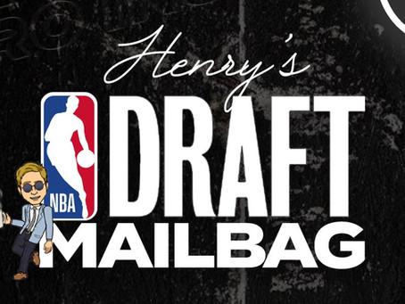 2021 NBA Draft Mailbag