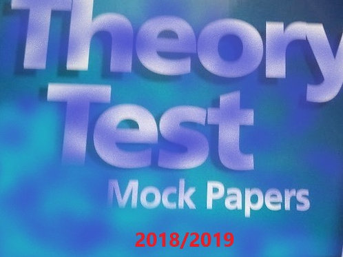 Theory Test Pack (2018/19 Edition}