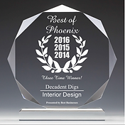 Best of Phoenix Award 2014, 2015 & 2016