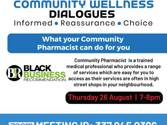 Wellness dialogues - Community pharmacist