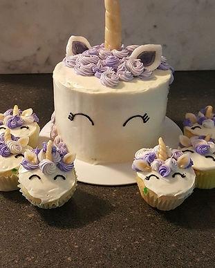 Unicorn cake #baking #cakedecorating #un