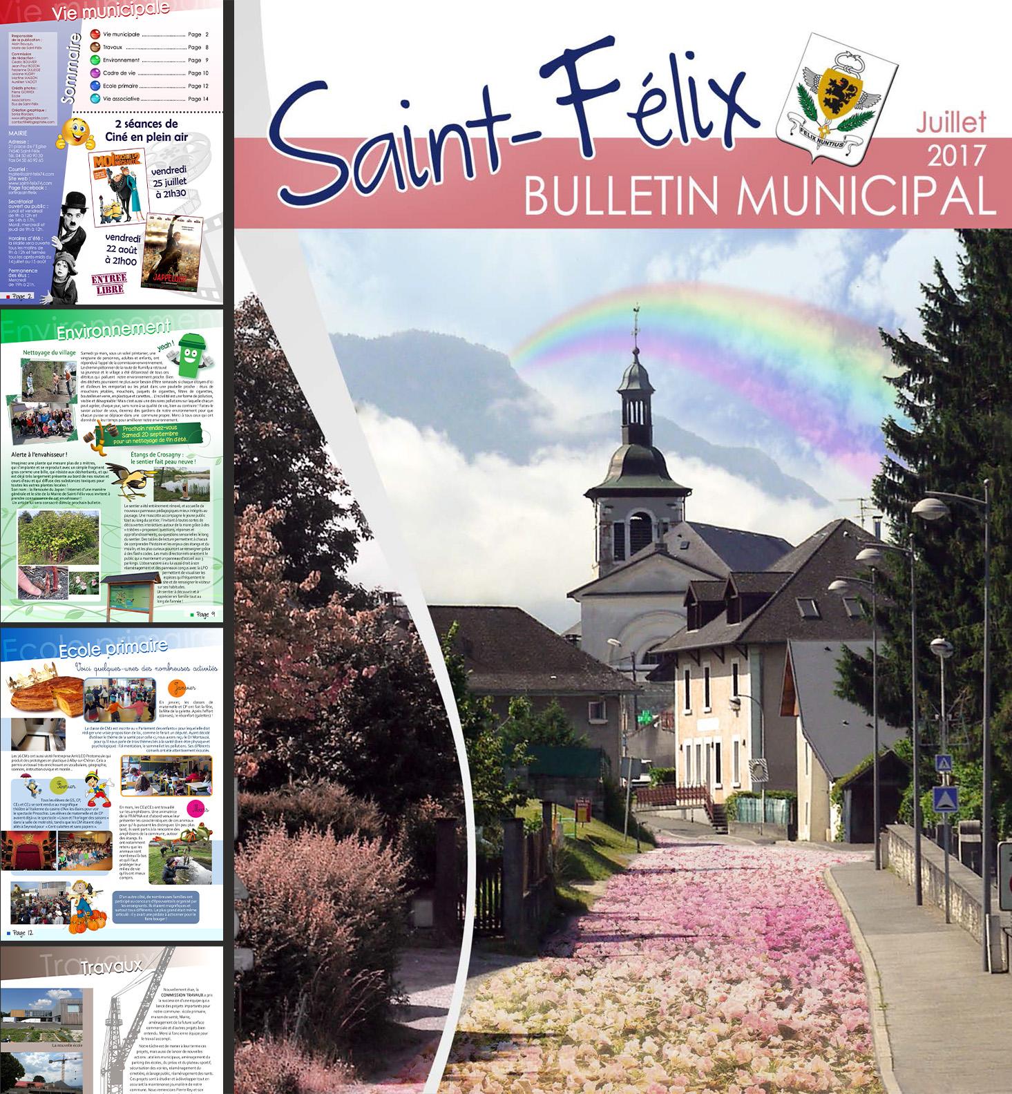 Bulletin trimestriel Saint-Félix 74540