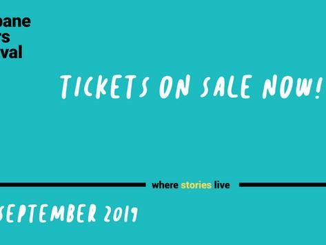 Brisbane Writers Festival appearance