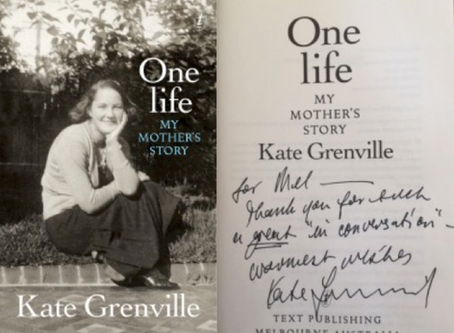 In-conversation with Kate Grenville