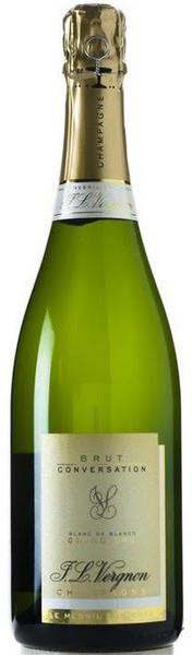尋俠堂|JL Vergnon Conversation Grand Cru Blanc de Blancs Brut NV 珍.路易維格諾 特級園無年份白中白香檳